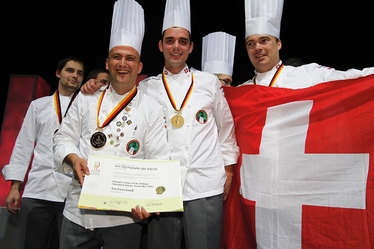 IKA Schweiz Siegerehrung